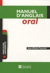 Nouvelle édition Manuel d'Anglais Oral