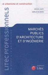 Dernières parutions dans Litec professionnels, Marchés publics d'architecture et d'ingénierie