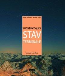 Souvent acheté avec Mathématiques 1e STAV, le Mathématiques Tle STAV