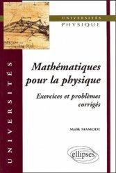 Dernières parutions dans universités, Mathématiques pour la physique