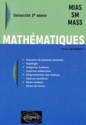 Dernières parutions sur Maths pour les SVT, Mathématiques 2ème année MIAS, SM, MASS
