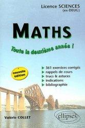 Dernières parutions sur Maths pour les SVT, Maths Toute la deuxième année !