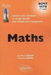 Souvent acheté avec Physique-Chimie, le Maths 1ère année BCPST VÉTO