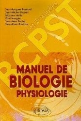 Souvent acheté avec Géologie tout-en-un BCPST 1re et 2e années, le Manuel de biologie physiologie BCPST 1ère et 2ème années