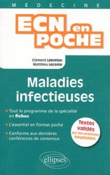 Souvent acheté avec Diabétologie - Endocrinologie, le Maladies infectieuses