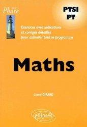 Dernières parutions dans Phare, Maths PTSI - PT