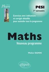 Dernières parutions dans Phare, Maths PCSI 1er semestre