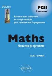 Dernières parutions dans Phare, Maths PCSI Deuxième période