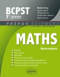 Souvent acheté avec Chimie 1ère année BCPST - VÉTO, le Mathématiques BCPST 1ere année