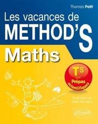 Dernières parutions dans Méthodix, Maths - De la Terminale S aux Prépas scientifiques