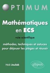 Souvent acheté avec Maths MP MP*, le Mathématiques en ECS