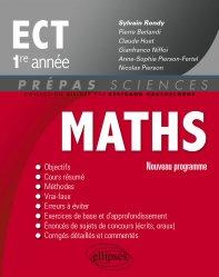 Souvent acheté avec Maths ECS 2e année, le Mathématiques ECT 1re année