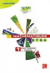 Souvent acheté avec Mathématiques 1e STAV, le Mathématiques BTSA 1
