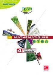 Souvent acheté avec Mathématiques 1e STAV, le Mathématiques BTSA Tome 4