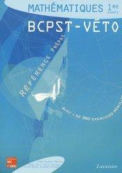 Souvent acheté avec Physique 1ère année BCPST - VÉTO, le Mathématiques BCPST - Véto 1ère année