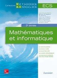 Souvent acheté avec Maths MP MP*, le Mathématiques et informatique ECS