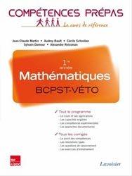 Dernières parutions dans Compétences prépas, Mathématiques BCPST - Véto 1ère année