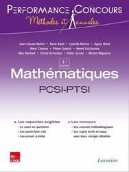 Souvent acheté avec Maths MP MP*, le Mathématiques 1ère année PCSI-PTSI