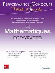 Dernières parutions dans Performance Concours Méthodes et annales, Mathématiques BCPST - VÉTO 1re année