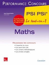 Dernières parutions dans Performance Concours, Maths PSI - PSI* 2ème année