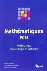 Souvent acheté avec Chimie 1ère année PCSI, le Mathématiques PCSI