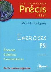 Dernières parutions dans Les nouveaux précis, Mathématiques Exercices PSI