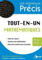 Dernières parutions dans Les nouveaux précis, Tout-en-un Mathématiques PCSI - PTSI