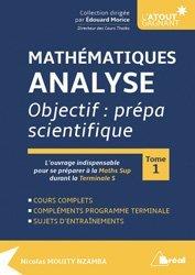 Dernières parutions sur Analyse, Mathématiques - Analyse - tome 1