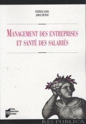 Dernières parutions dans Res Publica, Management des entreprises et santé des salariés