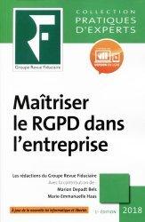 Dernières parutions dans Pratiques d'experts, Maîtriser le RGPD dans l'entreprise