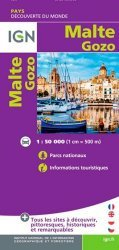 Dernières parutions sur Autres pays européens, Malte, Gozo. 1/50 000