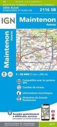 Nouvelle édition Maintenon, Auneau. 1/25 000