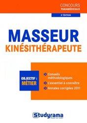 Dernières parutions dans Concours paramédicaux, Masseur-kinésithérapeute