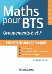 Souvent acheté avec Le grand livre de la céramique, le Maths pour BTS - Groupements E et F