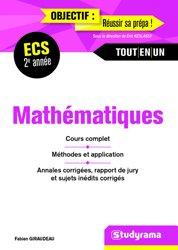 Dernières parutions dans Objectif : Réussir sa prépa, Mathématiques 2e année ECS