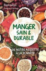 Dernières parutions sur Alimentation - Diététique, Manger sain et durable