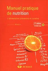 Souvent acheté avec Conseil en compléments alimentaires, le Manuel pratique de nutrition