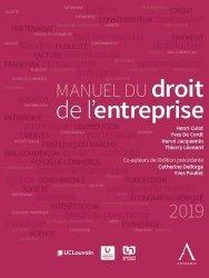 Nouvelle édition Manuel du droit de l'entreprise. 4e édition