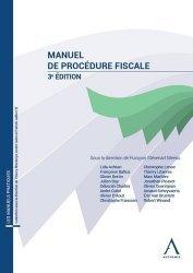 Dernières parutions sur Fiscalité d'entreprise, Manuel de procédure fiscale. 3e édition
