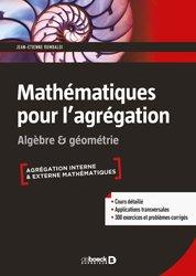 Souvent acheté avec Le calcul différentiel, le Mathématiques pour l'agrégation