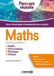 Dernières parutions sur Maths à l'université, Maths pour les licences de Maths, Informatique, Physique, Chimie