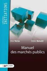 Dernières parutions sur Marchés publics, Manuel des marchés publics
