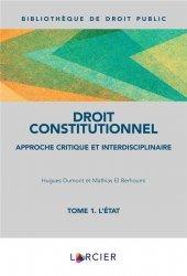 Dernières parutions sur Droit constitutionnel, Manuel de droit constitutionnel
