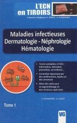 Dernières parutions dans L'ECN en tiroirs, Maladies infectieuses - Dermatologie - Néphrologie - Hématologie
