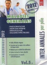 Dernières parutions dans Inter Annales par pôle, Maladies générales Vol. 5/5