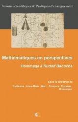 Dernières parutions sur Mathématiques, Mathématiques en perspectives