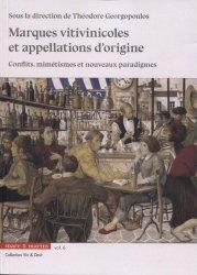 Dernières parutions sur Viticulture, Marques vitivinicoles et appellations d'origine
