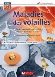 Dernières parutions sur Élevage des volailles, Maladies des volailles