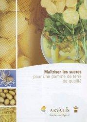 Dernières parutions sur Légumes, Maîtriser les sucres pour une pomme de terre de qualité