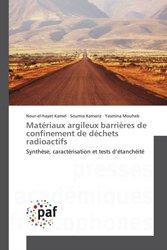 Dernières parutions sur Sciences des matériaux, Matériaux argileux barrières de confinement de déchets radioactifs